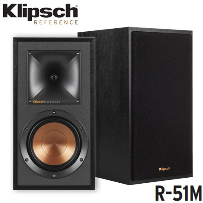 書架型喇叭 ✦ Klipsch 古力奇 R-51M 喇叭 音響 揚聲器 公司貨 0利率 免運
