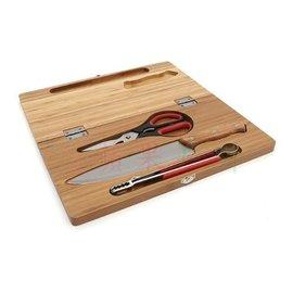 【【蘋果戶外】】AppleOutdoor 砧板組 露營 竹製 摺疊砧板 剪刀刀具組 廚具含收納袋 TNR NH SELPA Nuit 速可搭 Forest Chanodug