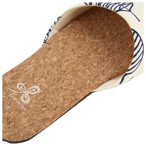 好葉輕軟木室內拖鞋 86073 白24 NITORI宜得利家居 3