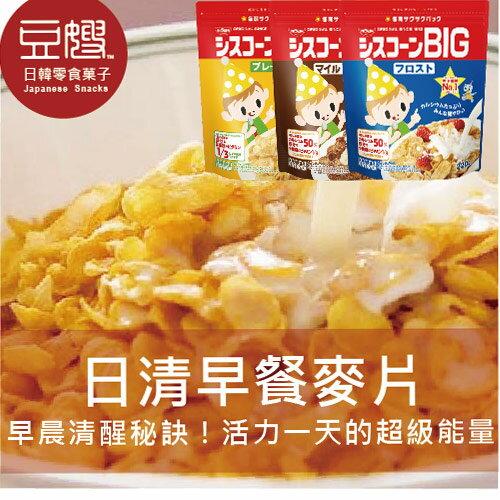 【豆嫂】日本零食 NISSIN 袋裝日清早餐營養麥片BIG(原味/糖霜/可可)