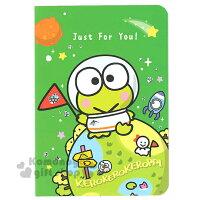 教師節禮物推薦到〔小禮堂〕大眼蛙 萬用卡片《綠.外太空.火箭.朋友》附信封