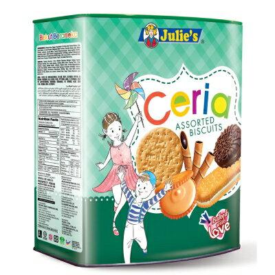 【Julies茱蒂絲】家樂什錦餅-桶裝(530g)