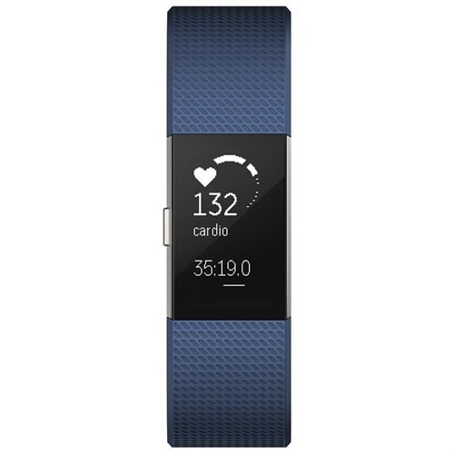 Fitbit Charge 2 Smart Band - Blue - Large 1