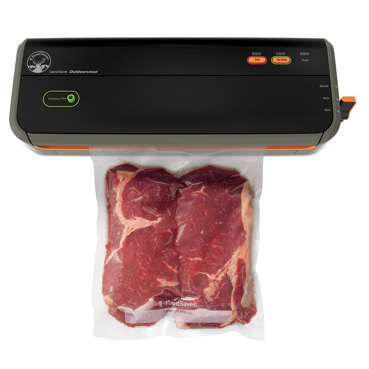The NEW FoodSaver GameSaver® Outdoorsman™ GM2050 Food Preservation System GM2050-000 1