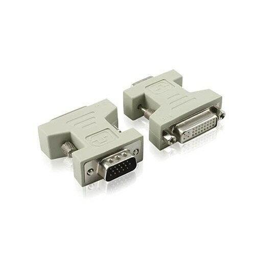DVI母轉VGA公 轉接頭 DVI 24+5母 轉 VGA公 - 限時優惠好康折扣