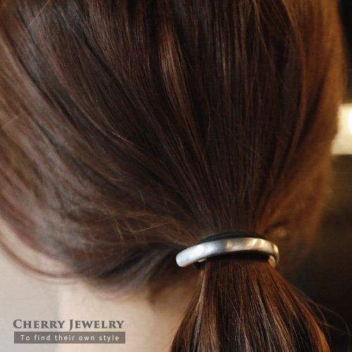 簡約大方金屬髮束10320【櫻桃飾品】【10320】