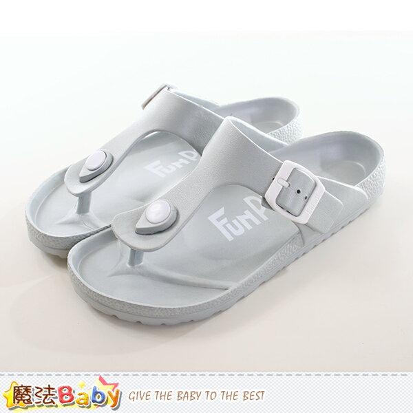 人字拖 中大童及成人輕量夾腳拖鞋 魔法Baby~sd0190