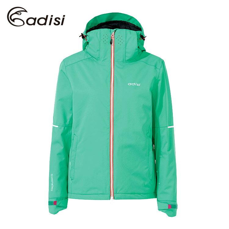 ADISI 女Primaloft可拆帽防水透氣保暖雪衣AJ1621048 (S~2XL)  /  城市綠洲專賣(滑雪、防風、柔軟、RECCO) 6
