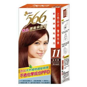 566 美色 護髮染髮霜 11號-金棕栗 40g