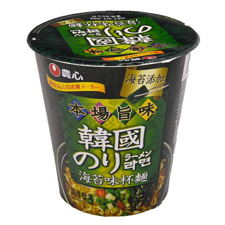 農心 海苔味杯麵-65g