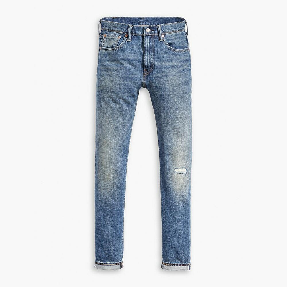 Levis 男款 511 低腰修身窄管牛仔褲  /  赤耳  /  微破壞  /  直向彈性延展  /  復古水洗 M 1