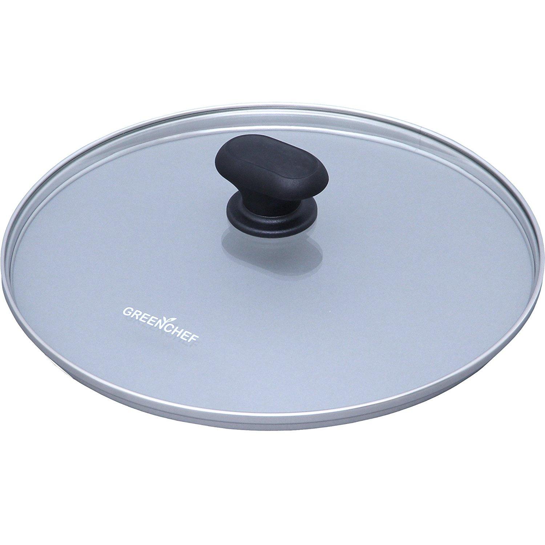 日本IRIS OHYAMA/GREEN CHEF 26公分 專用鍋蓋 鑽石塗層陶瓷鍋 瓦斯爐、IH對應 煎鍋 平底鍋