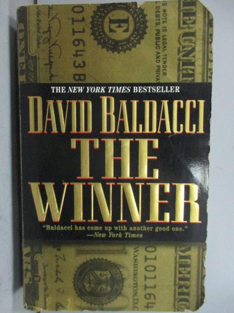 ~書寶 書T3/原文小說_LPD~The Winners_David Baldacci