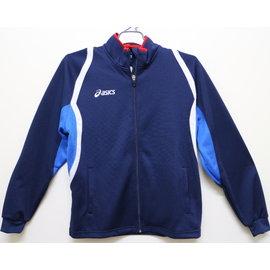 [陽光樂活] ASICS K11503-5043 運動針織外套 (藍)