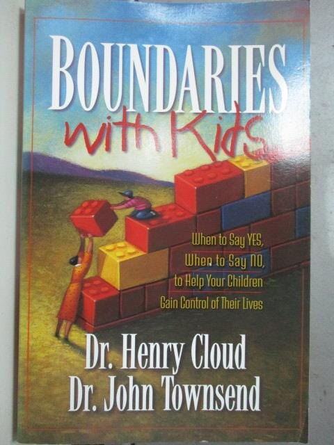 ~書寶 書T9/原文小說_OSP~Boundaries with kids_Dr.Henr