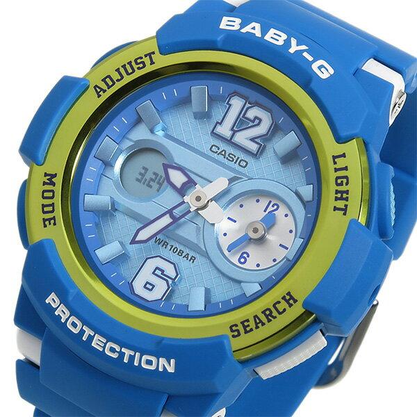 國外代購 CASIO Baby-G BGA-210-2B 少女時代城市簽名限定版 女錶 手錶 腕表 情侶錶 藍金