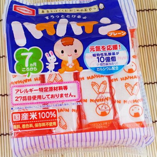 《加軒》日本龜田嬰兒米果 原味(乳酸菌)口味