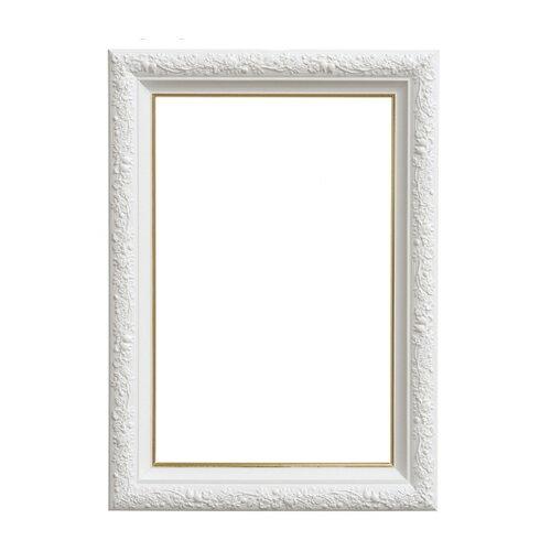 【真愛日本】15100800029  雕花木製拼圖專用框-126P專用白 龍貓 TOTORO 豆豆龍 拼圖專用框