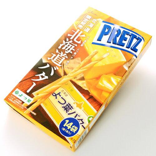 【Glico固力果】PRETZ巨人餅乾棒-北海道奶油口味 14袋X1本入(91g) =新鮮到貨= 3.18-4 / 7店休 暫停出貨 1