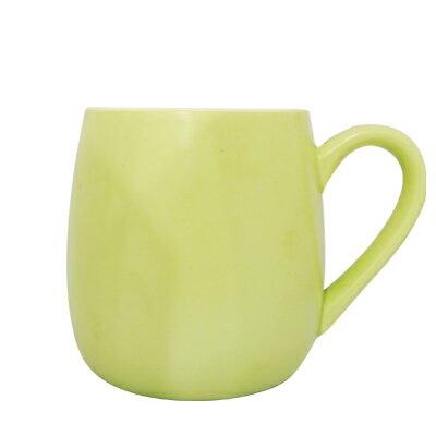 可朵馬克杯450ml淺綠色