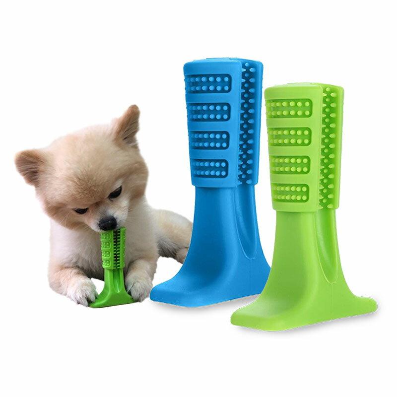 L號 狗狗潔牙神器 磨牙玩具 狗牙刷 狗潔牙 寵物牙刷 寵物潔牙 潔牙玩具 除口臭玩具 1