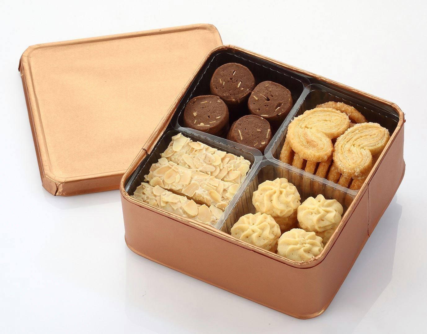 綜合曲奇餅乾禮盒 240g盒裝 禮盒 手工餅乾 寶島179▶全館滿499免運