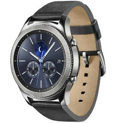 SAMSUNG 三星 GEAR S3 Classic 皮質錶帶 智慧手環 手錶 穿戴 智能手環 藍芽版
