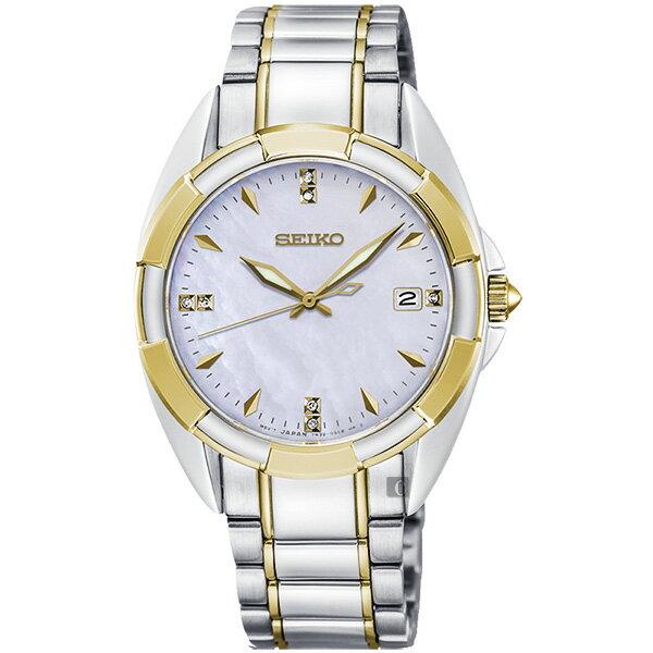 Seiko精工錶7N32-0DV0G(SKK886P1)網美時尚CS系列晶鑽腕錶雙色*珍珠貝33mm