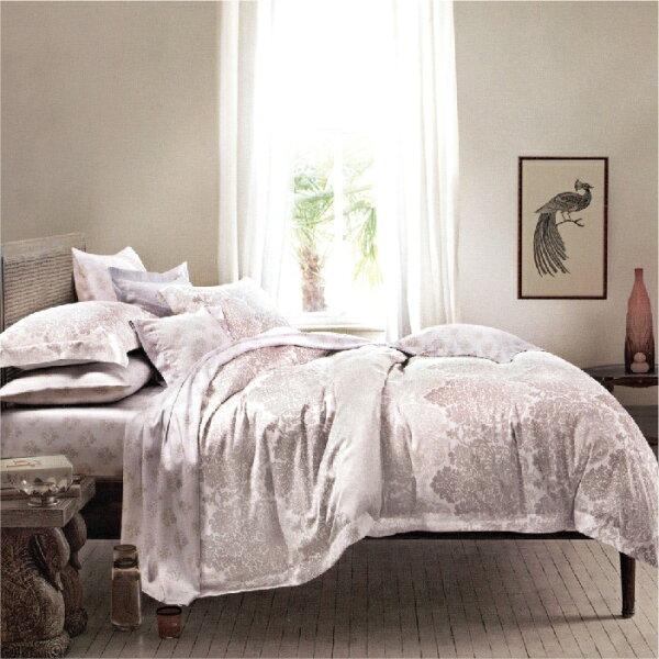 【名流寢飾家居館】午后摩卡.100%天絲.超細緻.標準雙人床包組