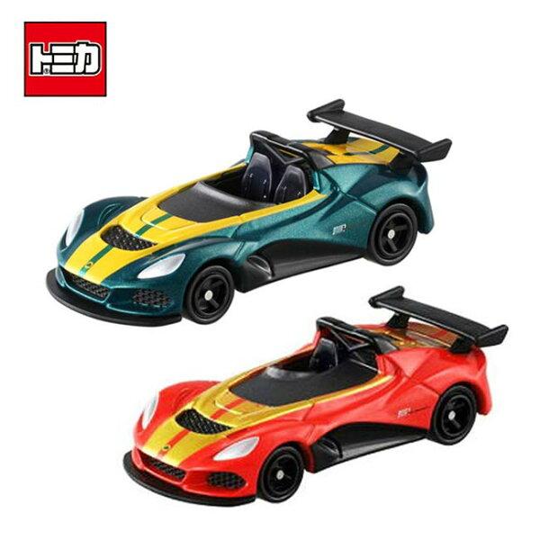 【日本正版】TOMICA兩款一組NO.112LOTUS3-ELEVEN跑車玩具車多美小汽車-880424