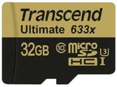 可傑 Transcend 創見 UHS-1 32G 32GB 633X 95Mb/s C10 microSD 高速記憶卡