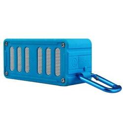 MiFa 藍牙喇叭 【mifa-F6】 藍芽喇叭 藍牙無線音響 NFC 免持通話 防水防震防塵 可插卡 藍 新風尚潮流