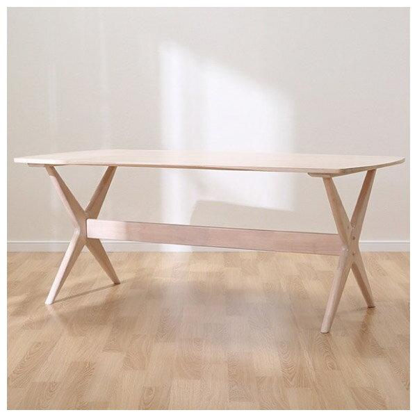 ◎橡膠木質餐桌椅四件組 RELAX WW / GY NITORI宜得利家居 2