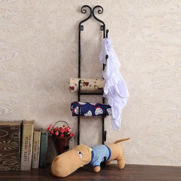 Iron Towel Holder Wall-Mount 3