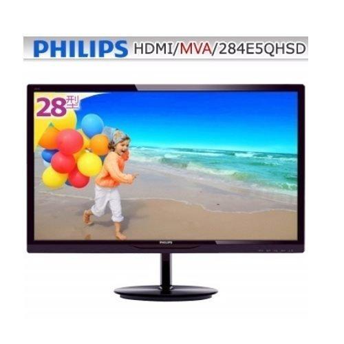 *╯新風尚潮流╭*PHILIPS 飛利浦 28型MVA寬螢幕 LED液晶螢幕 三年全機保固 284E5QHSD