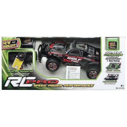 c6ee84466091c Gizmo Toy  New Bright 1  12 Radio Control Pro Wolf Flat Track Racing ...