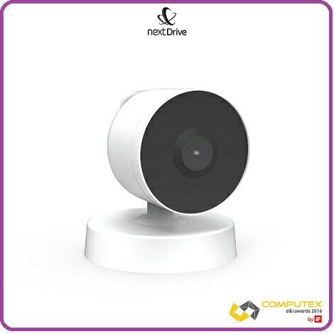 NextDrive CamS 廣角攝影機 可當一般Web Cam 使用或搭配 Next Drive Cube 連接使用成為智能居家攝影機