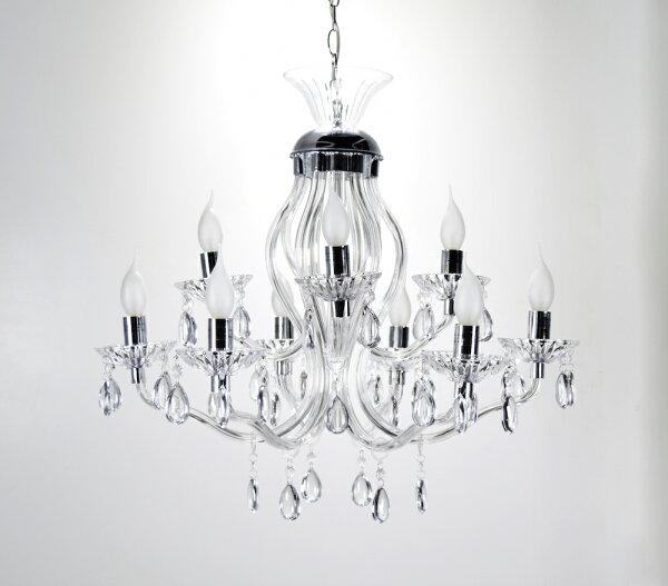壓克力曲線管9燈吊燈-BNL00094