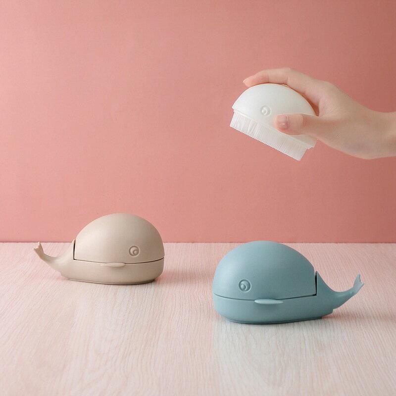創意小鯨魚洗衣刷清潔刷