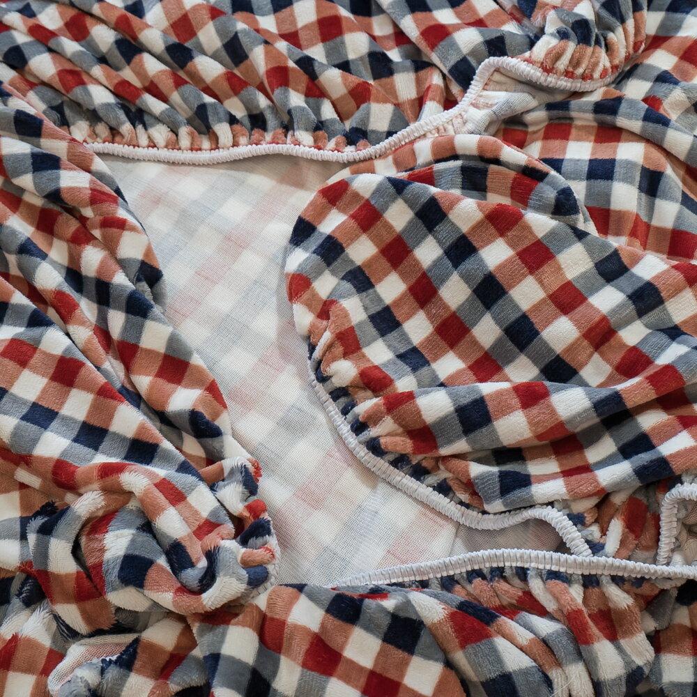 極度保暖法蘭絨三款床包+雙人被毯組合 (單人 / 雙人 / 加大可選) ♥️ 觸感細緻 溫暖過冬 福袋商品 6