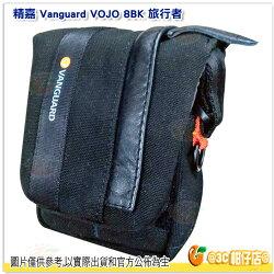 附雨罩 精嘉 VANGUARD VOJO 8 8BK 旅行者 8 黑 攝影微單眼側背包 公司貨 適 RX100M6 SX740 G7X