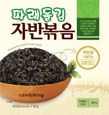 韓國 海苔酥 (原味) 40g 泡麵好料理 可單吃