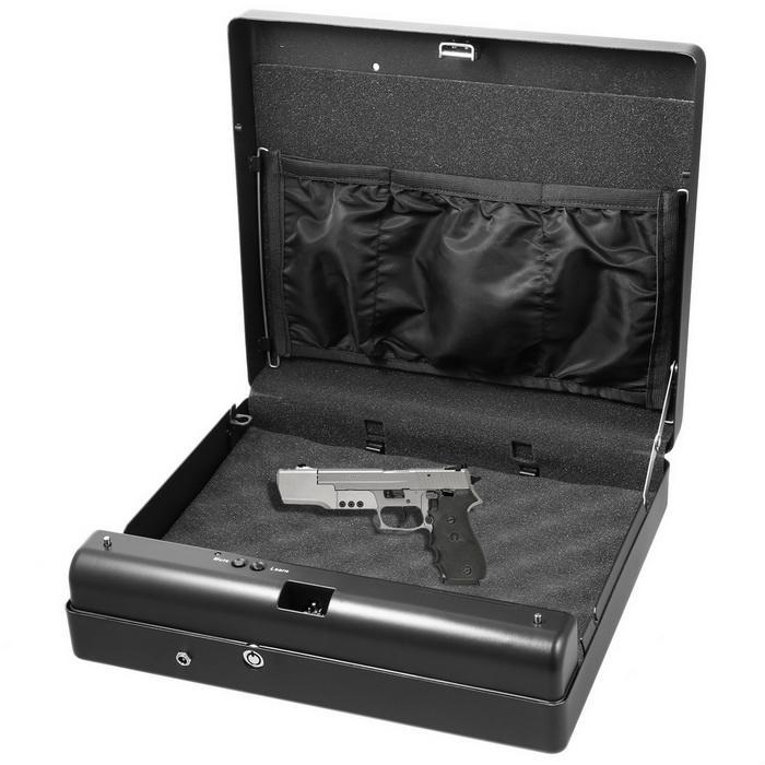 Pistol security box with electric lock 0