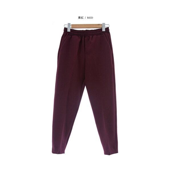 韓國製西裝褲同色綁帶【PL20208】-SAMPLE