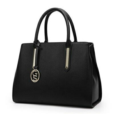 手提包真皮肩背包-歐美時尚知性大方女包包3色73se11【獨家進口】【米蘭精品】