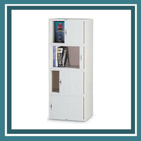 『商款熱銷款』【辦公家具】CP-6404橫向捲門公文櫃資料櫃效率櫃櫃子檔案收納
