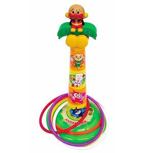 【真愛日本】16071600016套圈圈玩具遊戲組-ANP   電視卡通 麵包超人 細菌人 兒童玩具 正品 限量