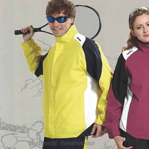 【日本Kawasaki】男女休閒功能性二件式網裡外套(黃)#K2103A - 限時優惠好康折扣