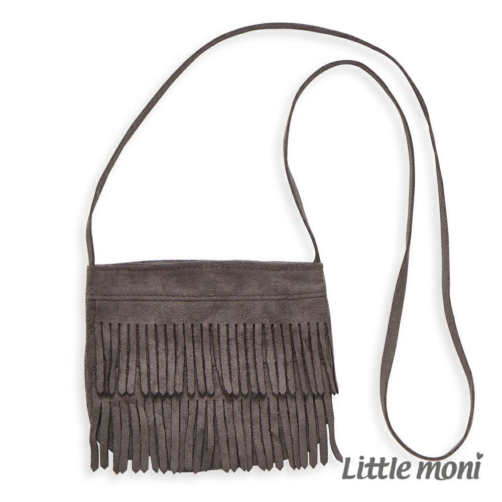Little moni 個性流蘇側背包-黑色 - 限時優惠好康折扣