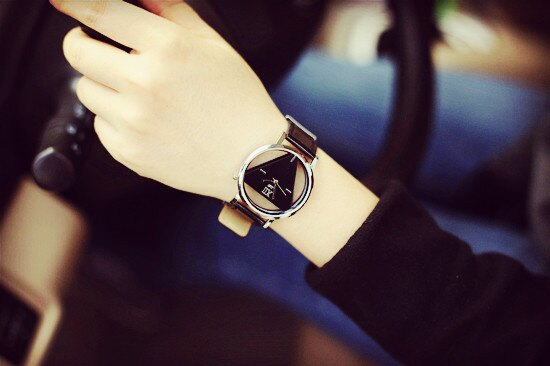 韓國流行三角形設計中性手錶(現貨+預購)